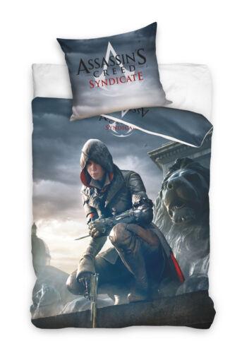Assassins Creed Syndicate Ubisoft Bettwäsche Bed Linen Bettwäsche