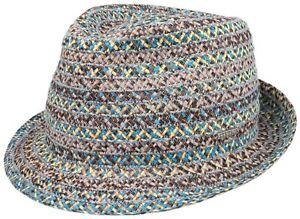 3028dc77 Stetson Summer Straw Hat Hat Monterey Trilby Toyo 32 Natural Blue ...