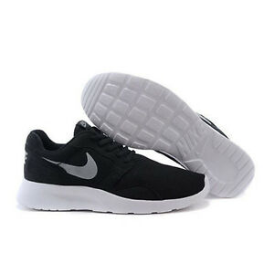 competitive price f9f80 42600 Image is loading NEW-NIKE-KAISHI-BLACK-GREY-RUNNING-SHOES-DUAL-