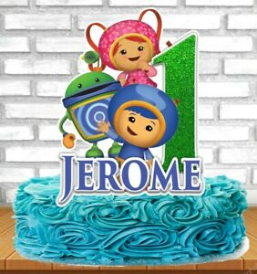 Sensational Team Umizoomi Cake Topper Ebay Personalised Birthday Cards Paralily Jamesorg
