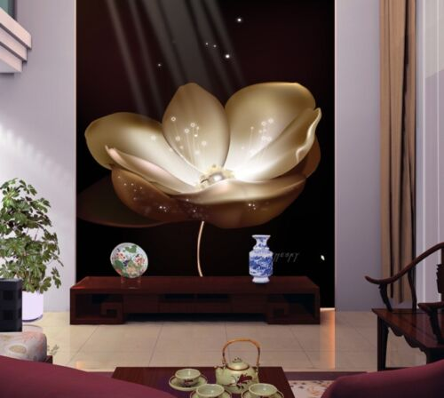 3D Luminous Flowers 110 Wall Paper Wall Print Decal Wall Deco Indoor wall Murals
