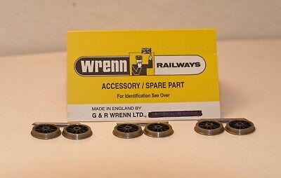 WRENN Model Railway Brand New SIX Tender Wheels