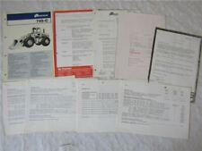 1965//66 Massey Ferguson Preislisten Baumaschinen MF 203 205 3165S//R 356 244 ..