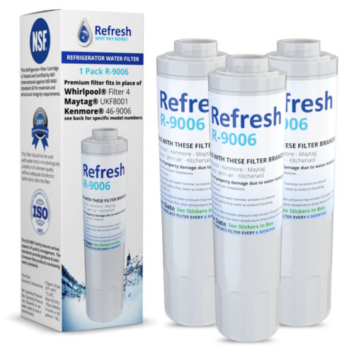 Replacement For Whirlpool Filter 4 Refrigerator Water Filter - by Refresh