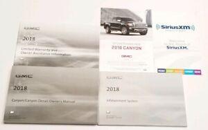 2018 GMC CANYON NAVIGATION OWNERS MANUAL DENALI 4WD 2WD ...