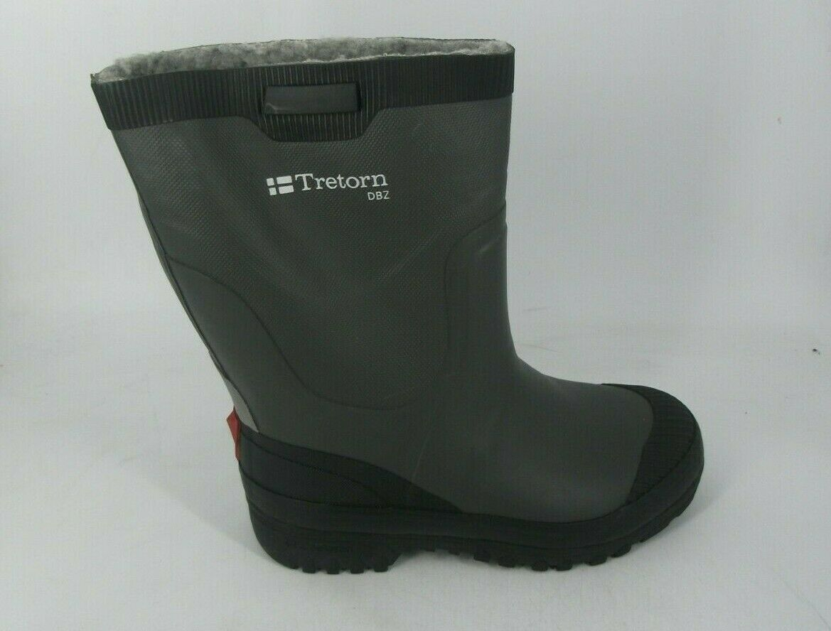 Tretorn grau Fur Lined Welly Stiefel UK 3 EU 36 JS096 EE 05