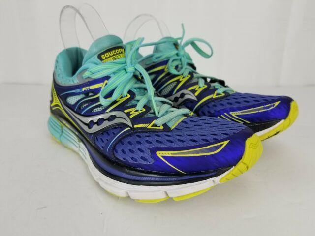 0ad3fe9525 Saucony Triumph ISO Size 8 Wide EU 39 Women's Running Shoes Purple S10262-1