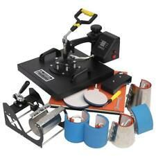 8 In 1 15 X15 Digital Heat Press Machine Sublimation For T Shirt Mug Plate Hat