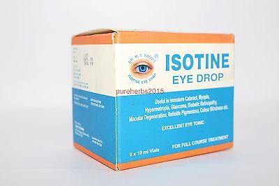12X Vials Isotine Eye Drop | Lower Price 10 ml