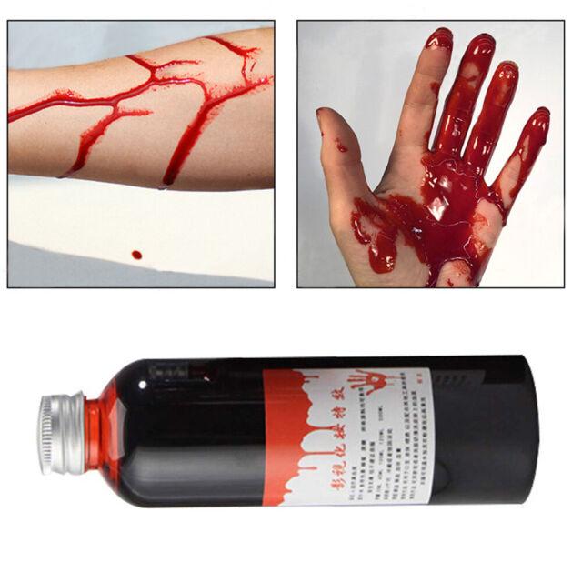 Halloween Human Body Makeup False Plasma Realistic Fake Blood Good Party r