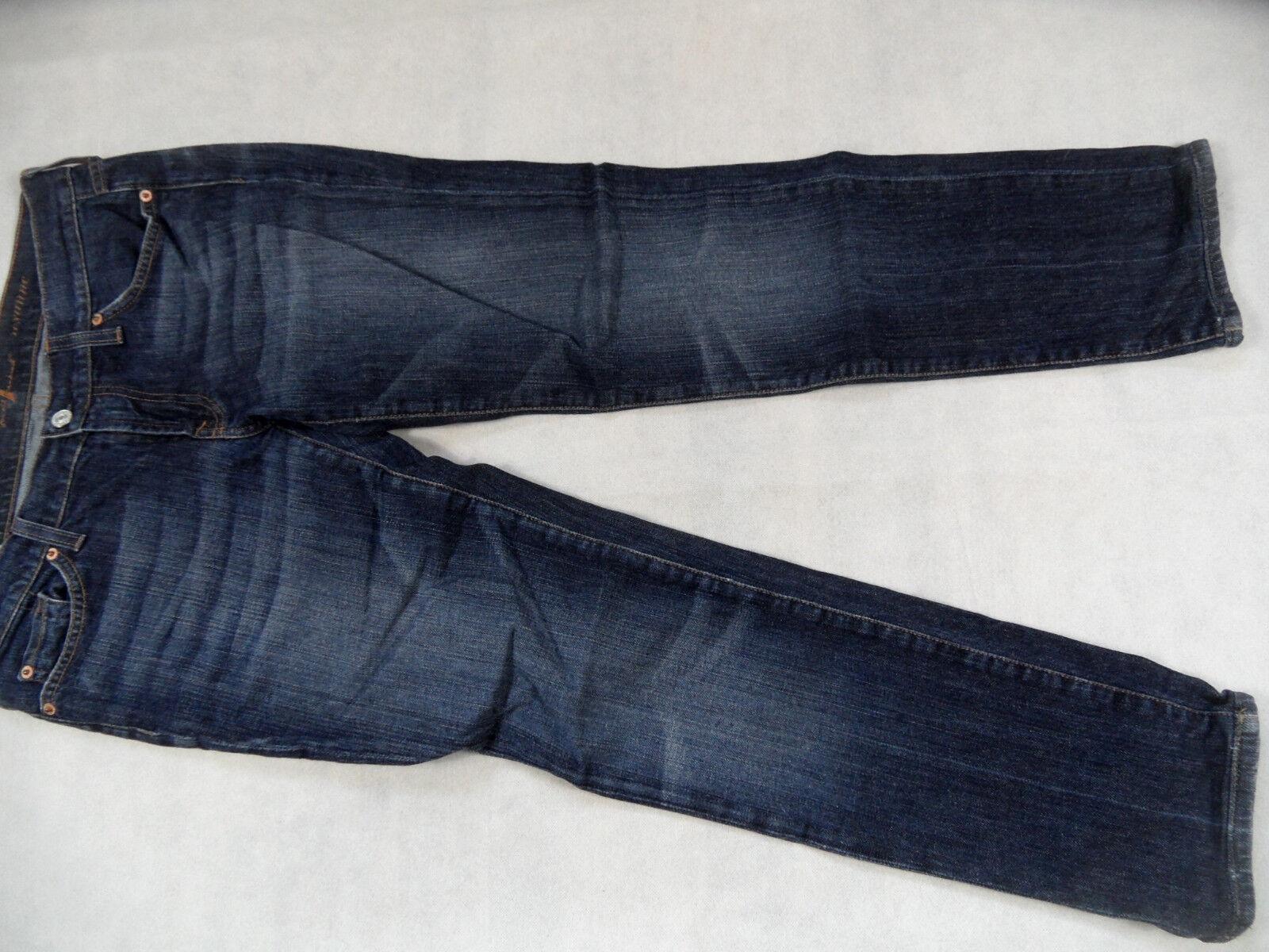 SEVEN FOR ALL MANKIND tolle straight Jeans ROXANNE Gr. 30 gekürzt TOP BI618