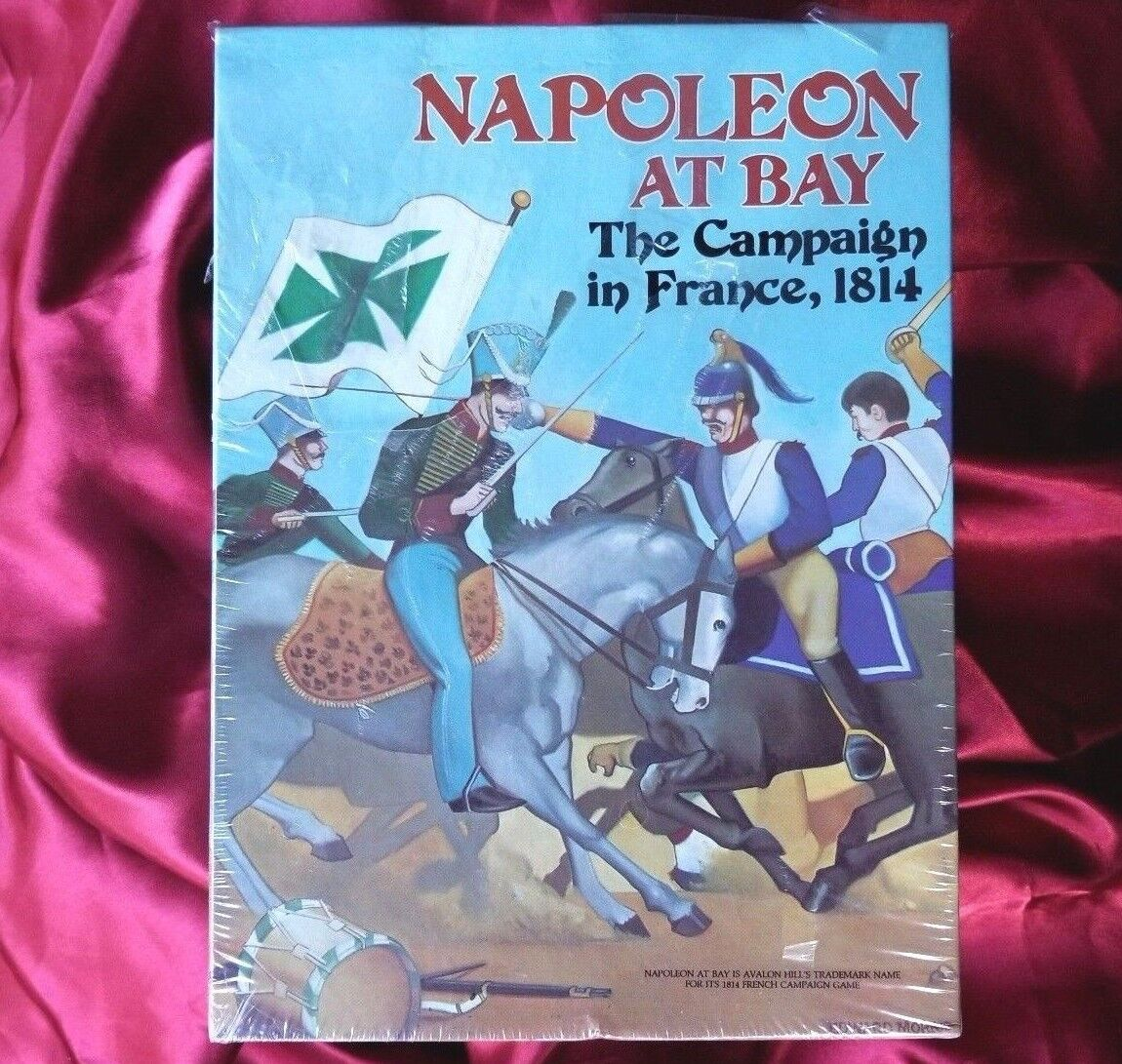 Napoleon at Bay The Campaign in France 1814 Avalon Hill Game 1983 new sealed