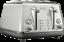 De-039-Longhi-CTOC4003W-Icona-4-Slice-Wide-Slot-Toaster-White-RRP-179-00 thumbnail 1