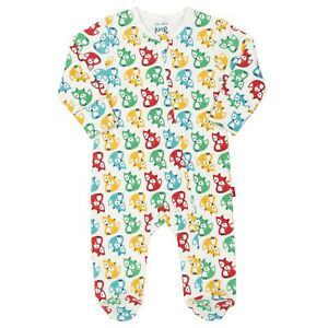 Newborn-24 Months Organic Kite Baby Bun /& Chick Sleepsuit