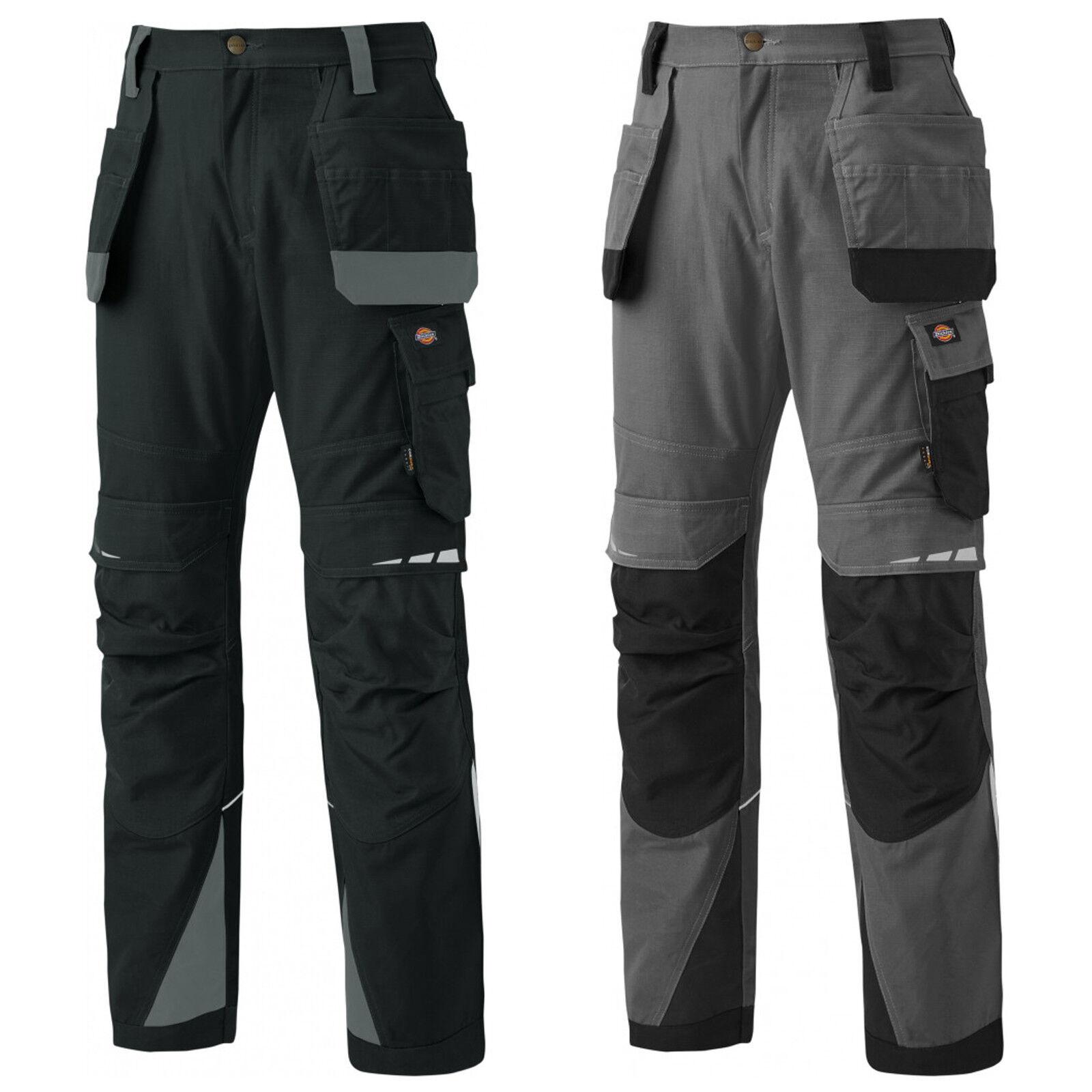 Dickies pro Portaherramienta Pantalones DP1005 de Hombre Alta Calidad Resistente