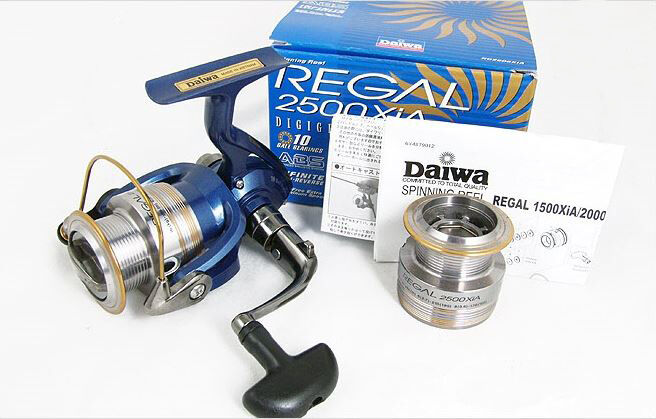 [Daiwa] REGAL Spinning Fishing Reel RG  4000 XiA 10BB Spare Spool Included  hot sports