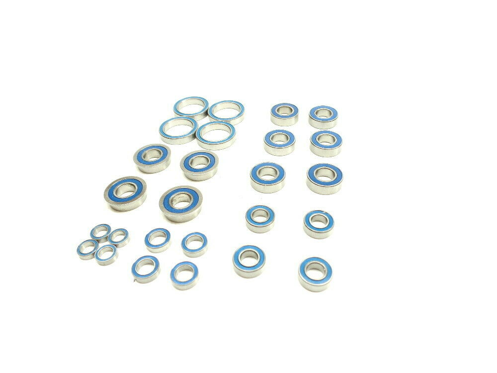 Team Associated 1:8 RC8B3.1 RC8B3.1E Ball Bearing Set Complete Vehicle 26 Pieces