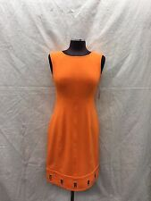 """ANNE KLEIN DRESS/NEW WITH TAG/RETAIL$149/ORANGE/LINED/SIZE 12/LENGTH 39"""""""
