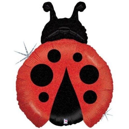"27/"" Betallic Ladybug Mylar Foil Balloon Party Decorating Supplies"