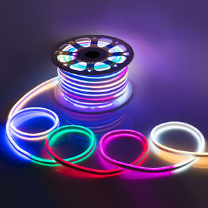 Wyzworks multi rgb flexible waterproof soft double sided led rope image is loading wyzworks multi rgb flexible waterproof soft double sided aloadofball Images