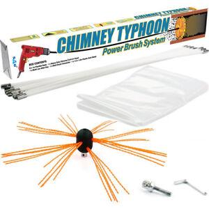 Chimney-Sweep-Power-sweeping-Chimney-Brush-DIY-set-flexible-Chimney-Typhoon