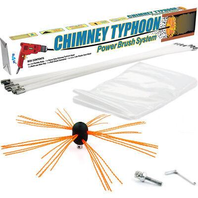 Chimney Sweep Power Sweeping Chimney Brush Diy Set