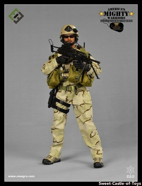 1 6 MSE & Z.E.R.T US Seal Team Charlie Platoon America Mighty Warriors Marc Lee