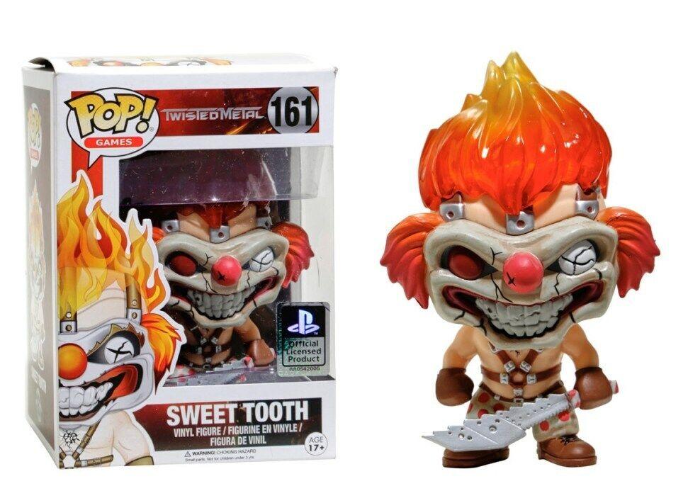 Twisted Metal Sweet Tooth Pop  Funko games Vinyl Figure Figure Figure n° 161 ed4a96