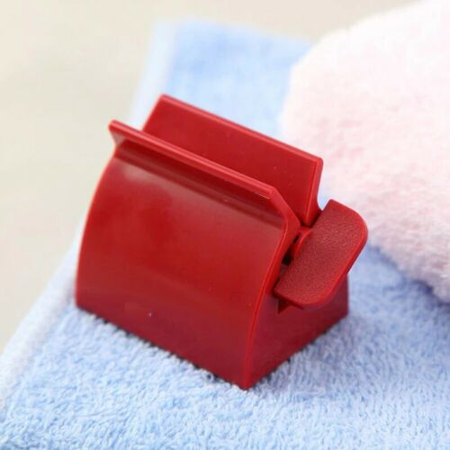 Toothpaste Squeezer Roller Press Easy Tube Squeeze Dispenser Clips Bathroom Tool