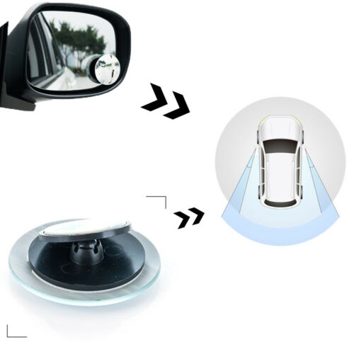 Discounted Car Rear View Mirror 360° Wide Rotated Angle Convex Blind Spot 1Pc