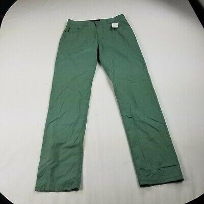 New Brax Cooper Fancy Pants Marathon 36 x 36 Cotton Blend Stretch Green