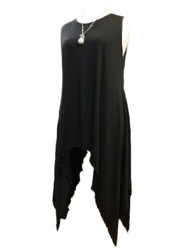 CA2 Caroline Ann Tunic// Vest with Drip Sides Made In The UK Plus Size up to 40