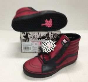 c410dec8c746 Image is loading VANS-SK8-HI-MARVEL-DEADPOOL-VN0A38GEUBJ-LIMITED-EDITION-