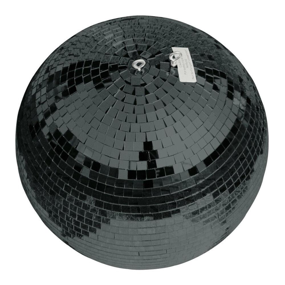 Eurolite Bola De Espejo 50cm 500mm Negro Negro Negro Brillo Bola Decoración Dancefloor Mirrorball  tienda de venta