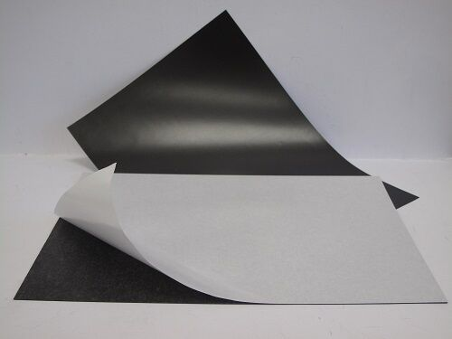 Magnetic Sheets Self  Adhesive 0.7mm Flexible A4 x 4 Sheets
