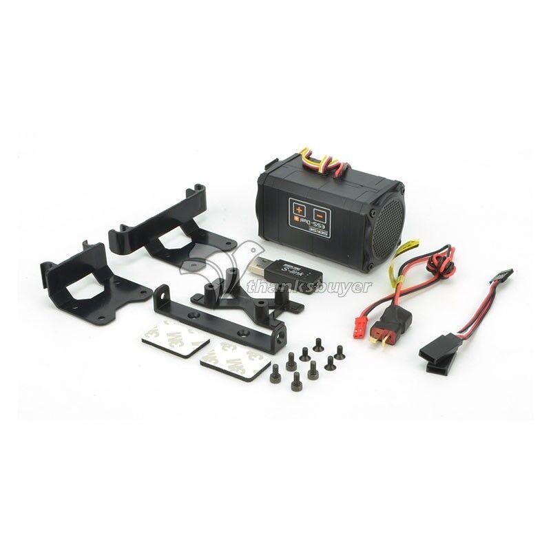 ESS DUAL Plus Motor de sonido simulador Real Para Traxxas TRX-4 Axial SCX10 SCX10 II