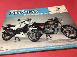 Revue Moto TechniqueYamaha RD350LC 4L0 Suzuki GSX1100 ET EX LT N° 40 RMT