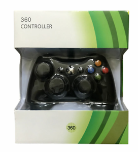 Game Controller for Microsoft Xbox 360 / Black and White / PC /Windows XP 7 8 10