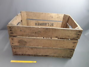 ancienne grande caisse en bois d co atelier usine brocante. Black Bedroom Furniture Sets. Home Design Ideas
