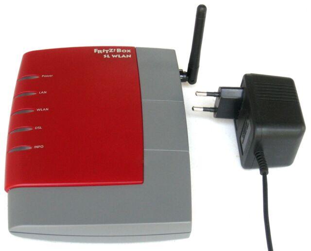 AVM Fritz!Box SL WLAN ▪ DSL-Router / Modem, ADSL2+, USB