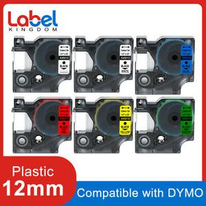 Dymo-D1-45013-Label-Tape-12mm-Black-on-White-for-Dymo-LabelMananger-160-280-420P