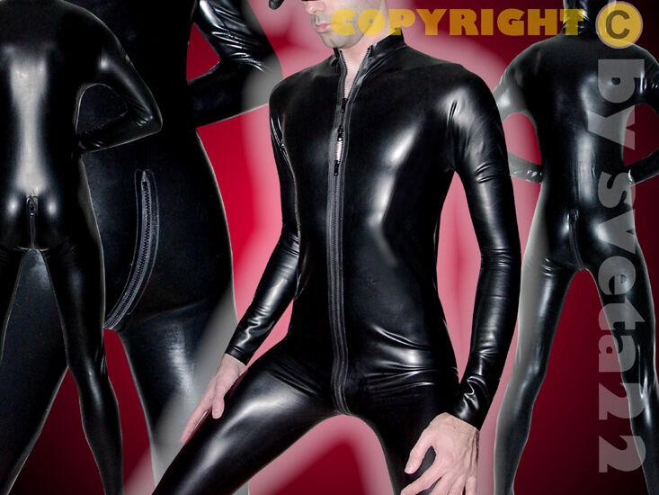 Latex Anzug mit 3-Wege-Zip  Super  Rubber  Catsuit Catsuit Catsuit - versch. Größen wählbar | Hohe Sicherheit  | Authentisch  | Ausgezeichnet (in) Qualität  | Modernes Design  218f8c