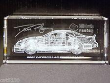 Caterpillar #22 Dave Blaney 2007 Toyota Camry - RACEBRICKS - 3-D Glass Block