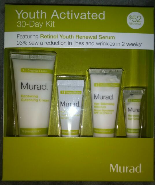 MURAD RESURGENCE YOUTH ACTIVATED 30 DAY KIT NEW IN BOX