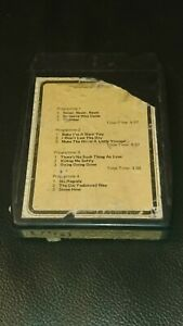 Vintage-8-Track-Cassette-Cartridge-Eight-Shirley-bassey-never-never-never