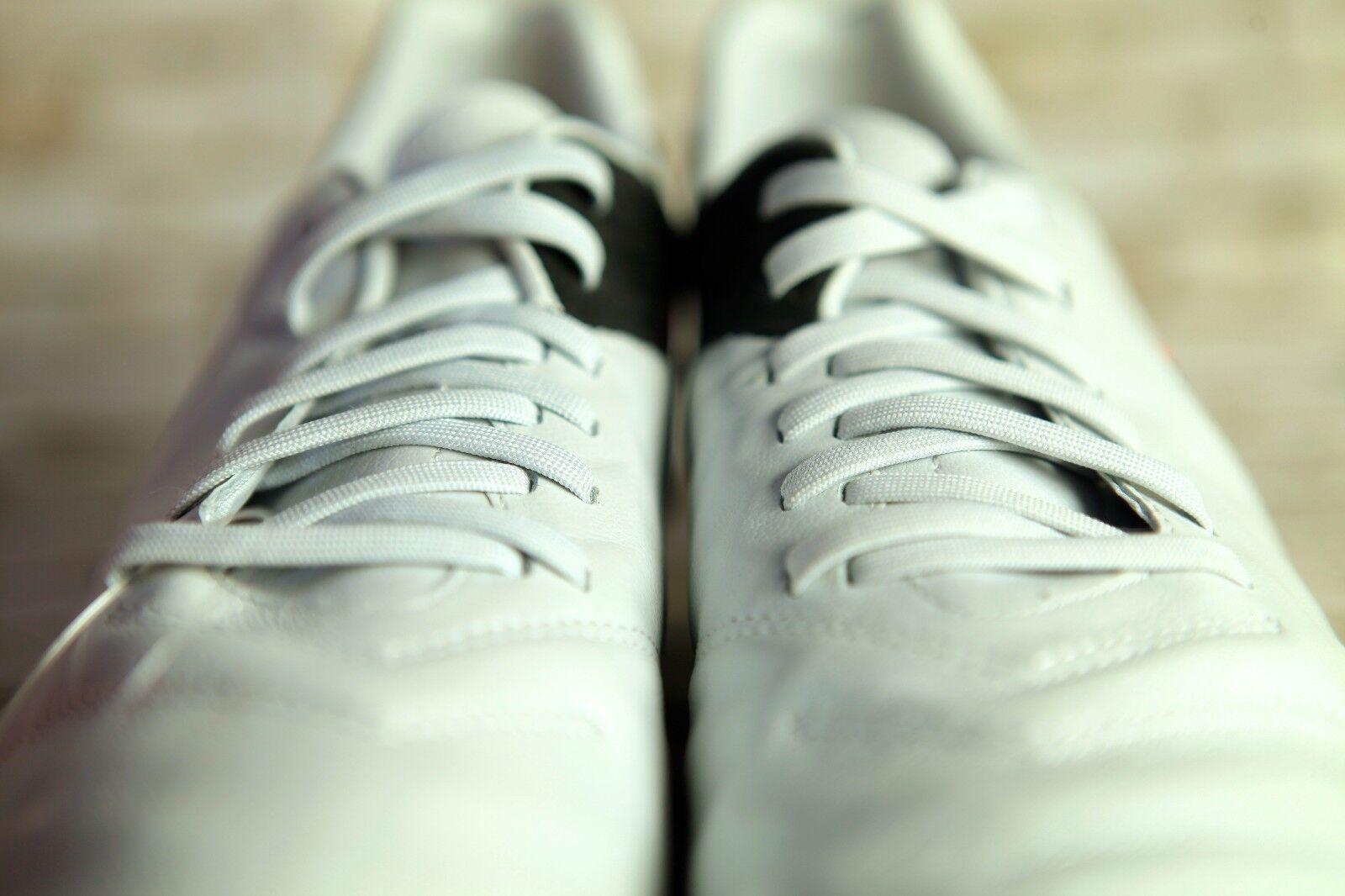 Nike - mens größe 11 tiempo mystic / fg schwarz - Nike orange leder stollenschuhe legende ad91bc