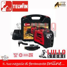 SALDATRICE INVERTER TELWIN FORCE 165 ELETTRODO 230V  KIT + ACCESSORI + VALIGIA