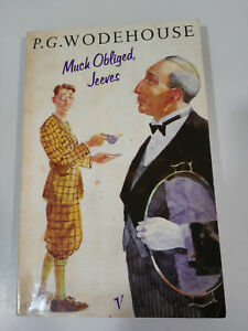 MUCH-OBLIGED-JEEVES-P-G-WODEHOUSE-BOOK-LIBRO-TAPA-BLANDA-1990-192-PGS