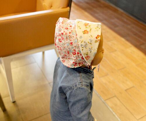 Cute Newborn Baby Cap Hat Bonnet Girl Boy Cotton Infant Toddler Handmade Eb13