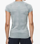 NWOT-RARE-SOLD-OUT-2019-Lululemon-Swiftly-CAMO-Silver-Gray-Blue-Short-Slv-6 miniature 3